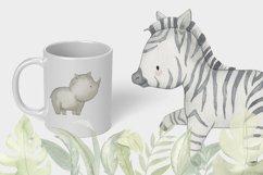 SAFARI ANIMALS. Watercolor set Product Image 5