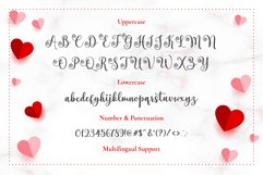 Heart Breath - Lovely Valentine Font Product Image 3