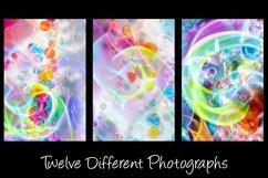 12 Bubble Rainbow Unicorn Photography Backgrounds Product Image 5