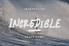 INCREDIBLE - Handwritten Font Product Image 1