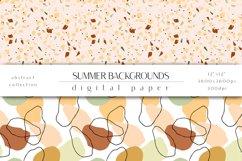 Summer Digital Paper Set - Summer Backgrounds Product Image 2