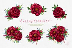 Peony inspiration - watercolor set Product Image 2