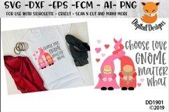 Choose Love Gnome Matter What Nordic Gnome Design Product Image 1