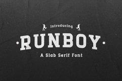 Runboy - Strong Slab Serif Font Product Image 1