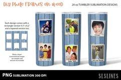 DIY Photo Frames on Wood - Tumbler Sublimation Designs 20o Product Image 6