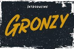 Gronzy - Brush Font Product Image 1