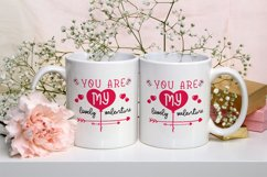 cutfiles SVG, You Are My Lovely Valentine Product Image 3
