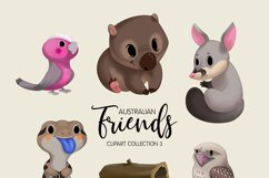 Australian Friends Clipart Collection 03 Product Image 2