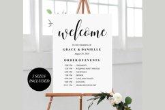 wedding welcome sign, wedding welcome Template Product Image 2