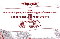 Winter Hunt Beauty Typeface Product Image 4