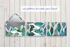 WATERCOLOR FOLIAGE patterns & motifs Product Image 6