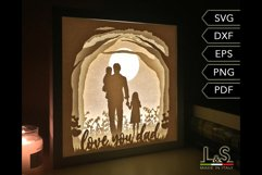 Dad light box preview