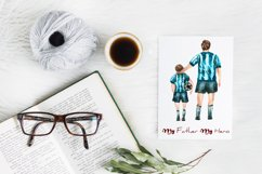 Dad clipart Mug Sublimation Father's Day clipart Product Image 4
