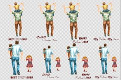 Dad clipart Mug Sublimation Father's Day clipart Product Image 3