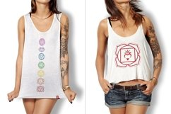 Chakra Symbols and Patterns Vector Product Image 4