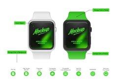 Apple Watch 5 Series Mockup Product Image 2