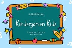 Web Font Kindergarten Kids Product Image 1