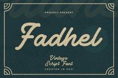 Web Font Fadhel Font Product Image 1