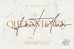 Queenstown // Font Duo Vol.01 Product Image 1