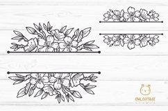 Cherry Blossom Big BUNDLE SVG, Spring FloralSVG Collection Product Image 3