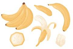 Banana hand drawn clip art Product Image 6