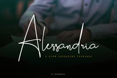 Alessandria Signature Font Product Image 1