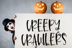 Leggy Monster - A Halloween Spider Font! Product Image 5