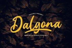 Web Font Dalgona Product Image 1