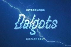 Web Font Dalgots Font Product Image 1