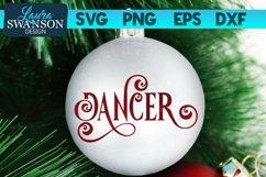 Reindeer Dancer SVG Cut File | Christmas Ornament SVG Product Image 1