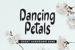 Web Font Dancing Petals - Sweet Handrawn Sans Font Product Image 1