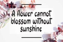 Web Font Dancing Petals - Sweet Handrawn Sans Font Product Image 3