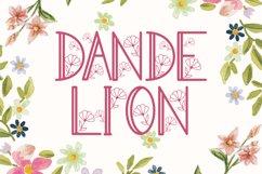 Dandelion Monogram Product Image 5