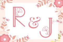 Dandelion Monogram Product Image 2