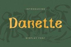 Web Font Danette Font Product Image 1