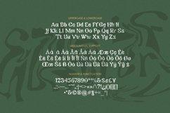 Web Font Danette Font Product Image 5
