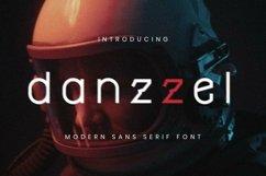 Web Font Danzzel Font Product Image 1