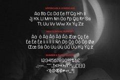 Web Font Danzzel Font Product Image 4