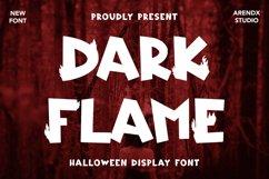 Dark Flame - Halloween Display Font Product Image 1