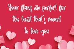 Web Font Darleen Beloved - Beauty Handwritten Font Product Image 2