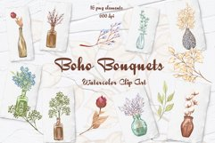 Dried Flowers Clipart Product Image 1