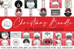 Christmas SVG Bundle of 25 Premium Designs | Sign Making SVG Product Image 1