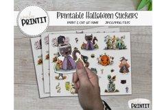 Printable Sticker Bundle, Halloween Stickers Product Image 3