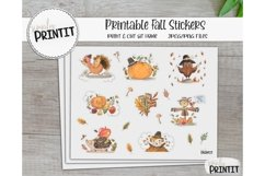 Printable Sticker Bundle, Fall Stickers Product Image 3