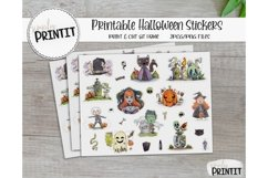 Printable Sticker Bundle, Halloween Stickers Product Image 2