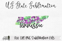 Watercolor US State Flowers - Tennessee Product Image 1