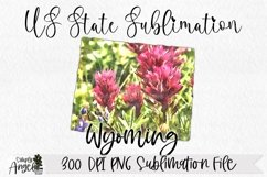 Watercolor US State Flowers - Wyoming Product Image 1