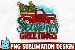 Season's Greetings - Christmas Sublimation Product Image 1