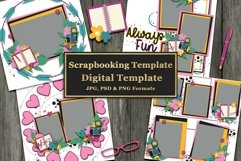 Surprise Digital Scrapbooking Templates Product Image 2