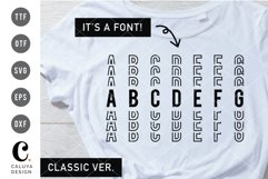 Stacked Font Classic Version Product Image 1